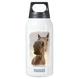 Fun Friendly Horse Aluminum 10 Oz Insulated SIGG Thermos Water Bottle