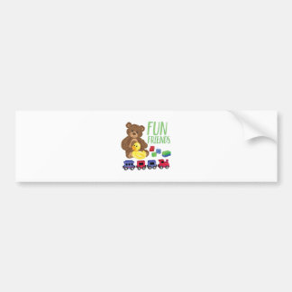 Fun Friends Bumper Sticker