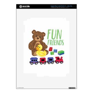 Fun Friends Decals For iPad 3