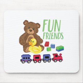 Fun Friends Mouse Pad