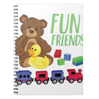 Fun Friends Notebook