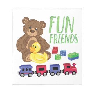 Fun Friends Notepad