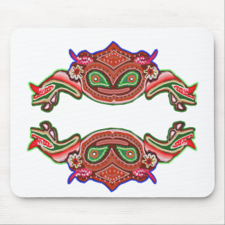 Fun Frog Dance - Alien Monsters by Navin Mouse Pad