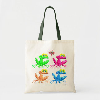 Fun Frogs Budget Tote Bag