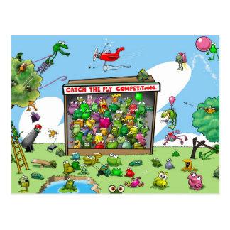 Fun Frogs Postcard