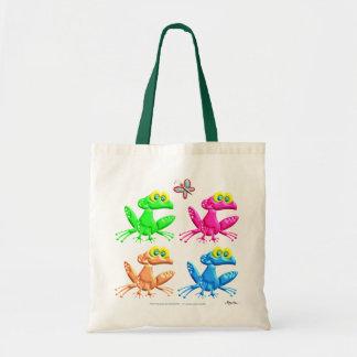 Fun Frogs Tote Bag