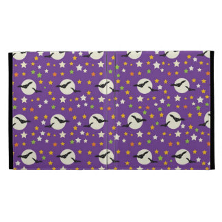 Fun Full Moon with Spooky Bats and Fun Stars iPad Cases