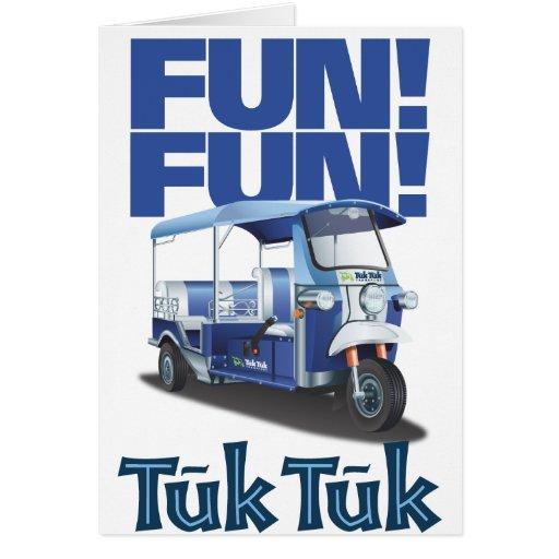 FUN FUN Tuk Tuk Card