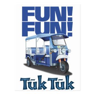 FUN FUN Tuk Tuk Postcard
