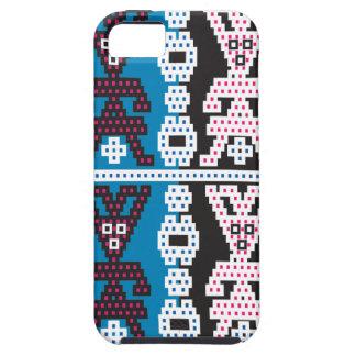 Fun funky blue blokes, i phone 5 case