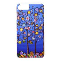 Fun Funky Owls iPhone 7 case