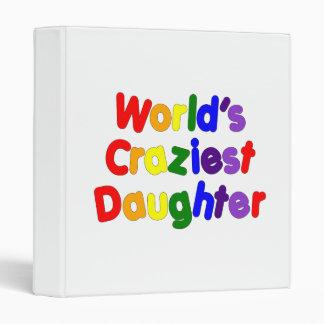 Fun Funny Daughters : World's Craziest Daughter Binder
