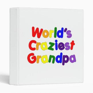 Fun Funny Grandfathers : World's Craziest Grandpa Vinyl Binder