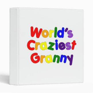 Fun Funny Grandmothers : World's Craziest Granny Vinyl Binders