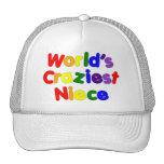 Fun Funny Humorous Nieces : World's Craziest Niece Trucker Hat