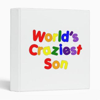 Fun Funny Humorous Sons : World's Craziest Son Binders