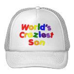 Fun Funny Humorous Sons : World's Craziest Son Trucker Hat