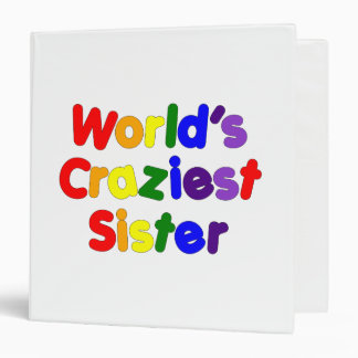 Fun Funny Sisters : World's Craziest Sister Binders