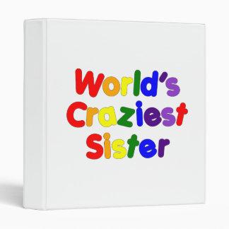 Fun Funny Sisters : World's Craziest Sister Vinyl Binders