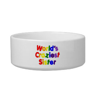 Fun Funny Sisters : World's Craziest Sister Cat Water Bowl