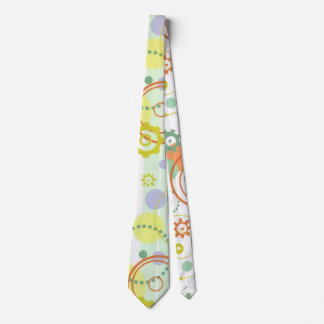 Fun Gears and Circles Tie