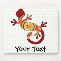 fun gecko mouse pad