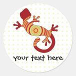 fun gecko stickers