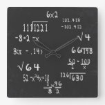 Fun Geek Math Clock