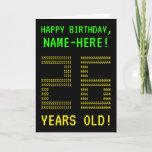 "[ Thumbnail: Fun, Geeky, Nerdy ""26 Years Old!"" Birthday Card ]"