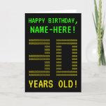 "[ Thumbnail: Fun, Geeky, Nerdy ""30 Years Old!"" Birthday Card ]"