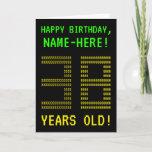 "[ Thumbnail: Fun, Geeky, Nerdy ""38 Years Old!"" Birthday Card ]"