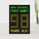 "[ Thumbnail: Fun, Geeky, Nerdy ""98 Years Old!"" Birthday Card ]"