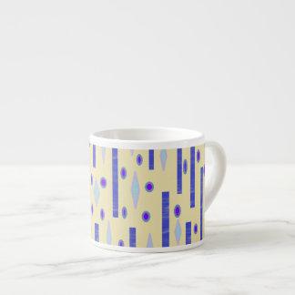 Fun Geometrical Design Espresso Mug