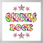 Fun Gerbils Rock Print