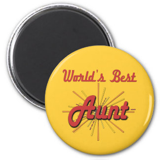 Fun Gifts For Aunts 2 Inch Round Magnet