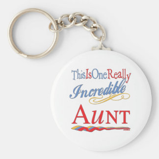 Fun Gifts For Aunts Basic Round Button Keychain