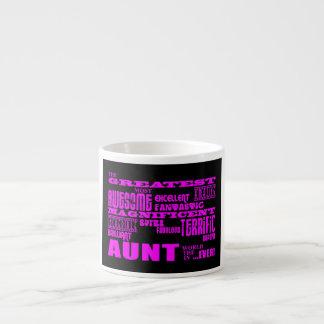 Fun Gifts for Aunts : Greatest Aunt Espresso Mug