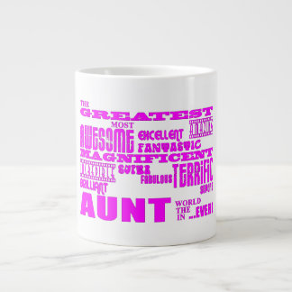 Fun Gifts for Aunts : Greatest Aunt Large Coffee Mug
