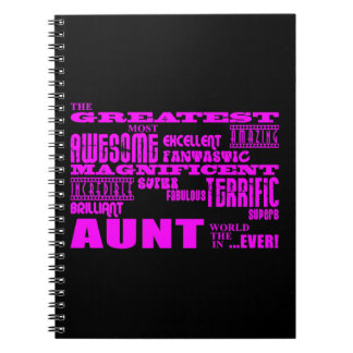 Fun Gifts for Aunts : Greatest Aunt Notebook