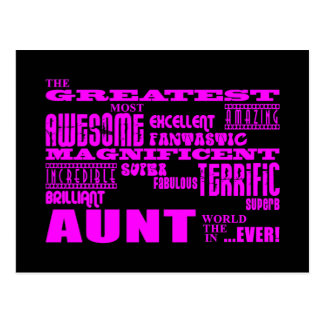 Fun Gifts for Aunts : Greatest Aunt Postcard