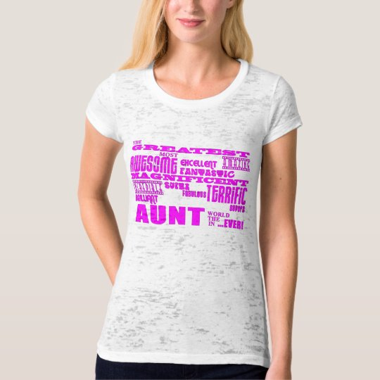Fun Gifts for Aunts : Greatest Aunt T-Shirt