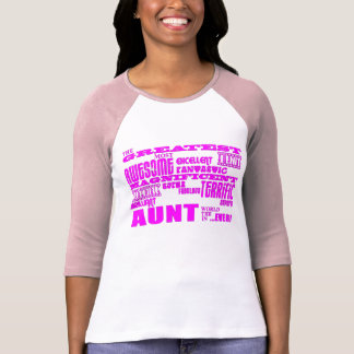 Fun Gifts for Aunts : Greatest Aunt Tee Shirts