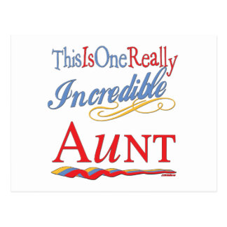 Fun Gifts For Aunts Postcard
