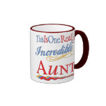 Fun Gifts For Aunts Ringer Coffee Mug