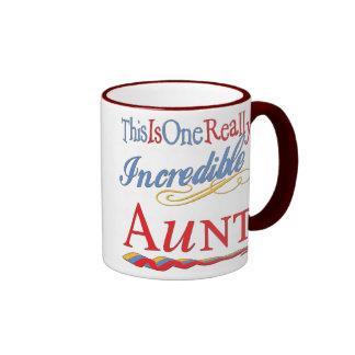 Fun Gifts For Aunts Ringer Coffee Mug
