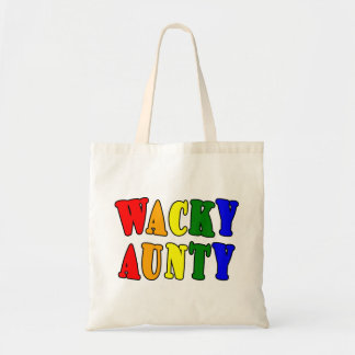 Fun Gifts for Aunts : Wacky Aunty Tote Bag