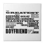 Fun Gifts for Boyfriends : Greatest Boyfriend Tiles