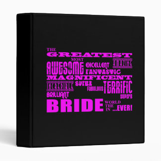 Fun Gifts for Brides : Greatest Bride Binder