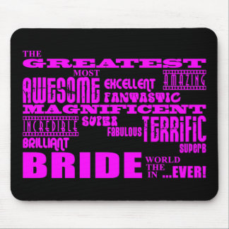 Fun Gifts for Brides : Greatest Bride Mouse Pad