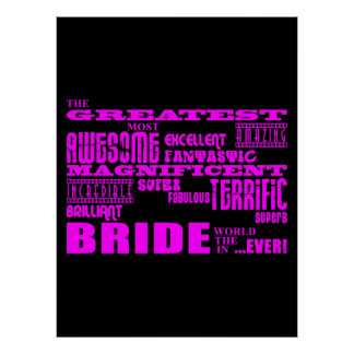 Fun Gifts for Brides : Greatest Bride Print
